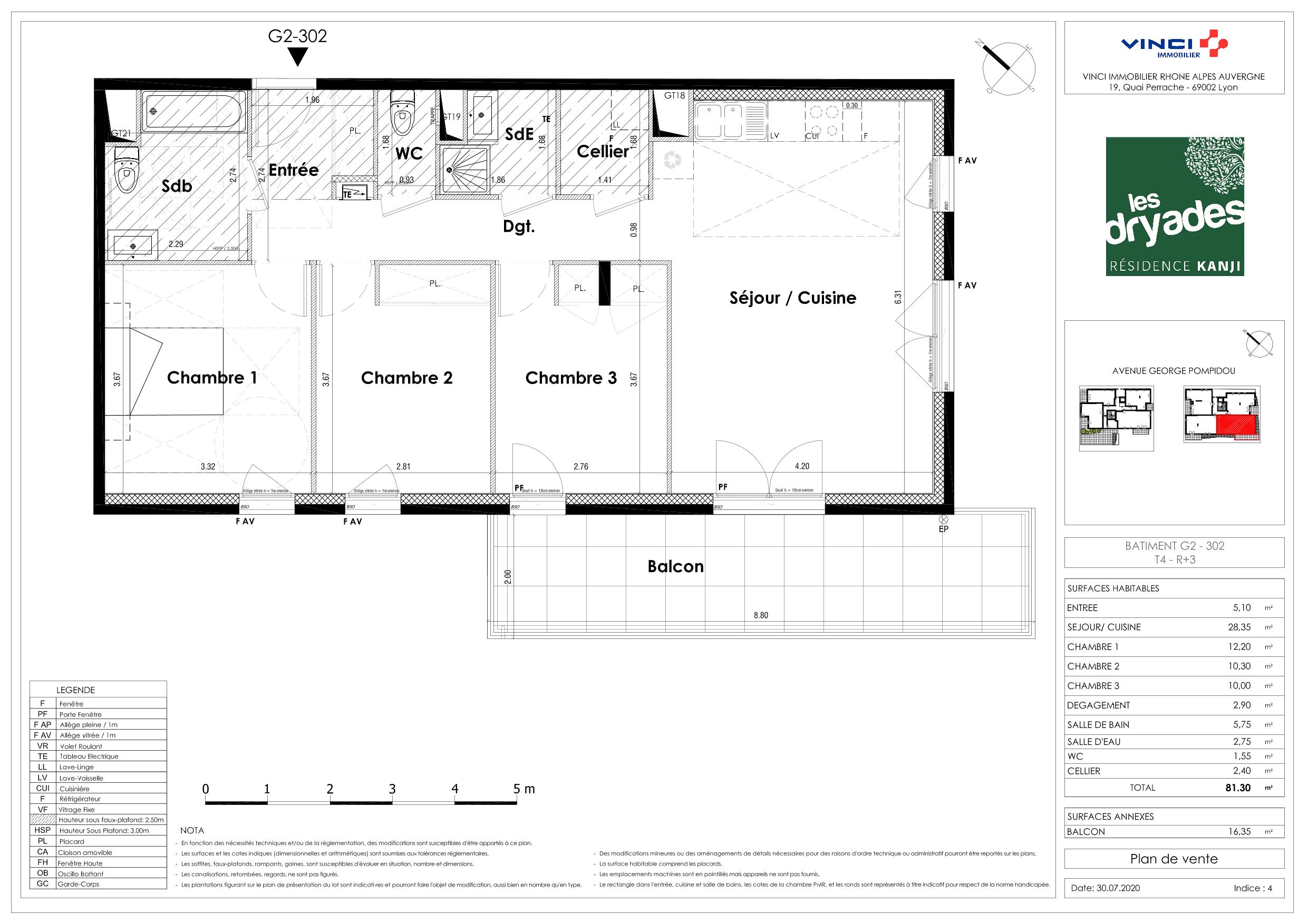 Immobilier neuf à SAINT-PRIEST - LES DRYADES - KANJI  VINCI